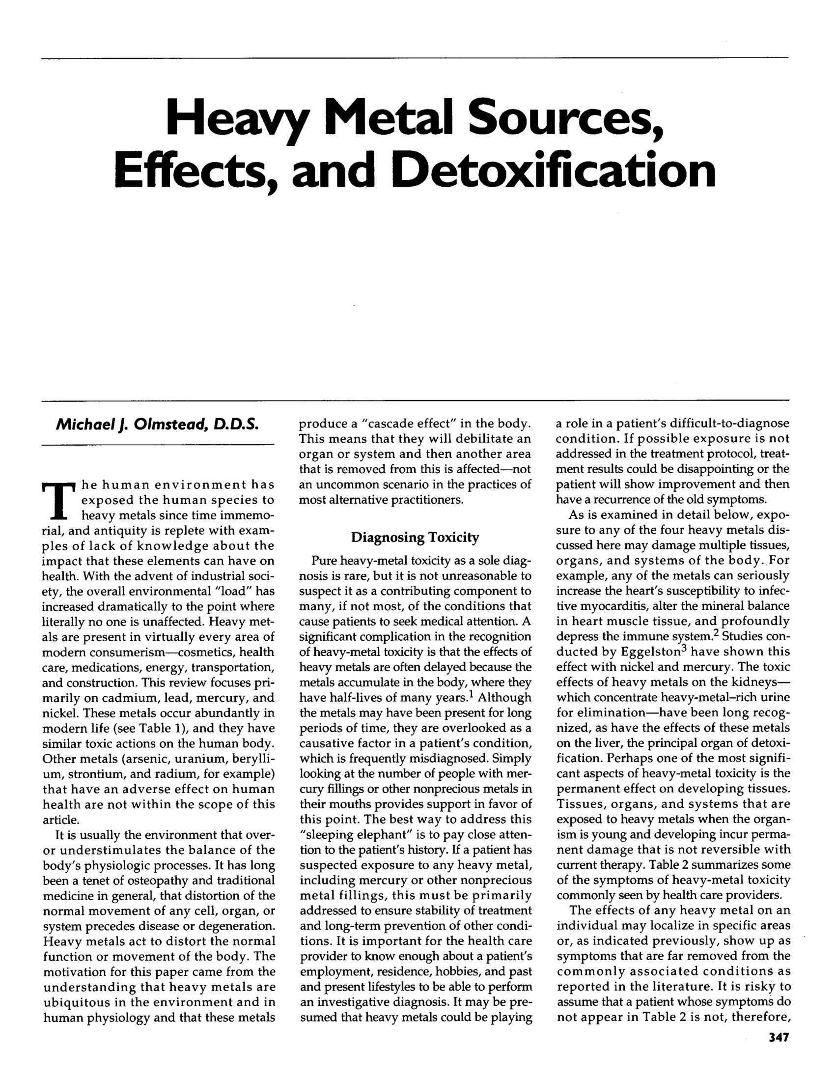heavy materials articles